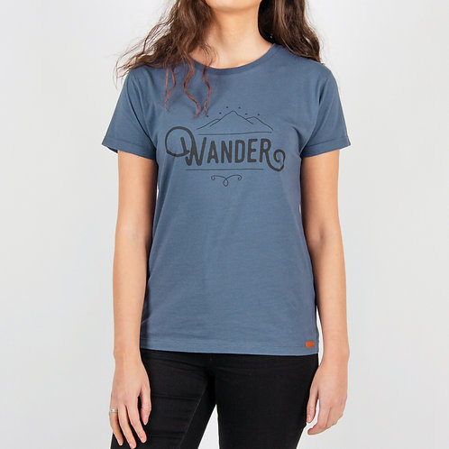 Passenger Snowdrift T Shirt Dark Denim