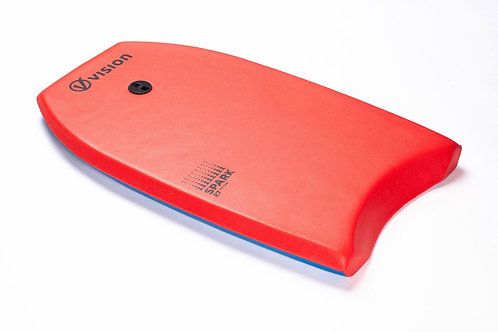 """Vision 34"""" Spark Nipper Bodyboards - Red"""