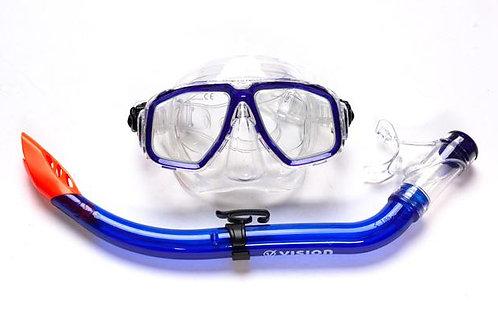 Vision Adult PVC Snorkel & Mask Set