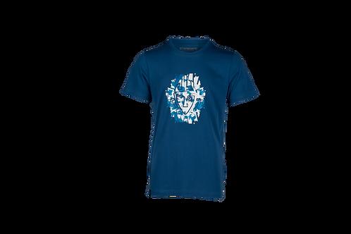 Starboard Mens Flash Tiki T Shirt - Navy