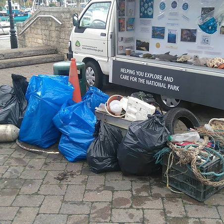 Lymington Town Quay Litter Pick