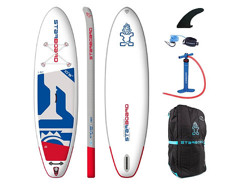 2020 Starboard IGo Zen 10'8 x 33 Inflatable SUP Package