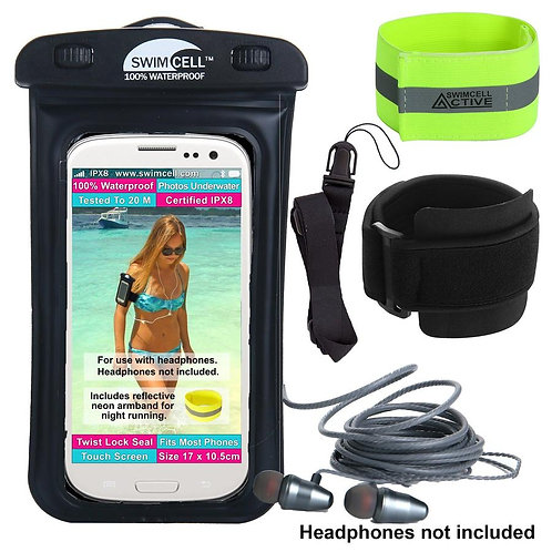 Swimcell Waterproof Phone Case with Arm Band