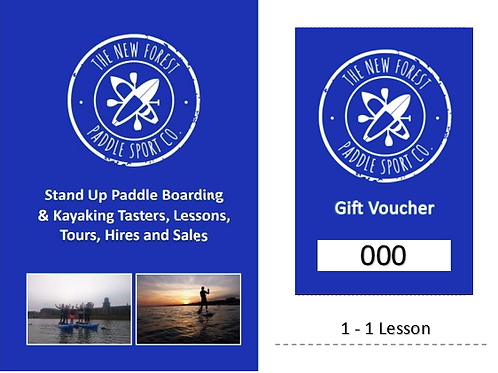 Specialist Paddling Tuition Gift Voucher