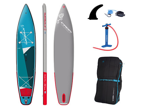 2021 Starboard Inflatable Touring ISUP 12'6 x 30 Zen Package
