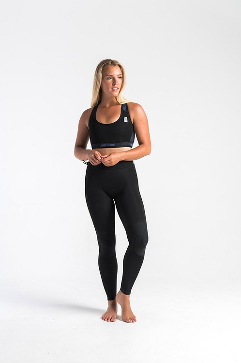 C-Skins Womens Solace 1.5mm Surf & SUP Leggings Black