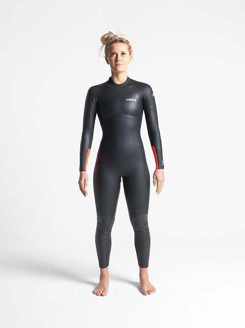 Swim Research Womens 4:3 Open Water Swimming Wetsuit Front
