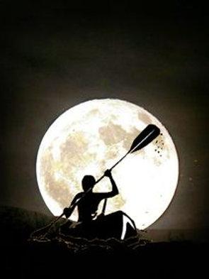 Adult Kayaking Moonlight Experience