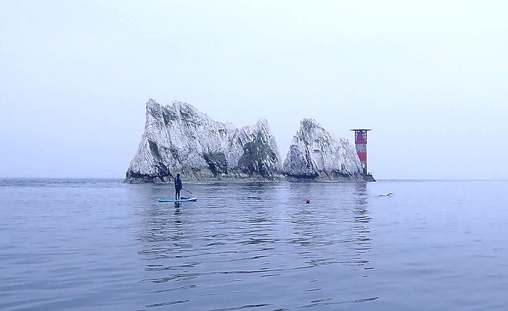 Paddle Boarding Isle of Wight Neeldes