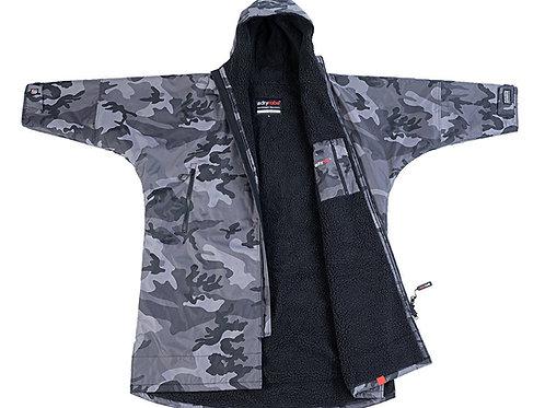 Dryrobe Advanced Long Sleeve Black Grey Camo