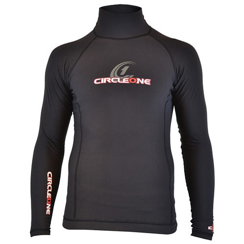 Mens Circle One Icon Thermal Rash Vest