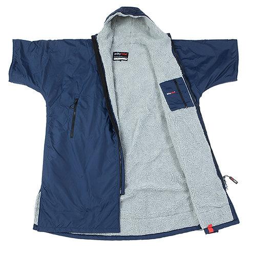 Dryrobe Advanced Short Sleeve Navy Grey