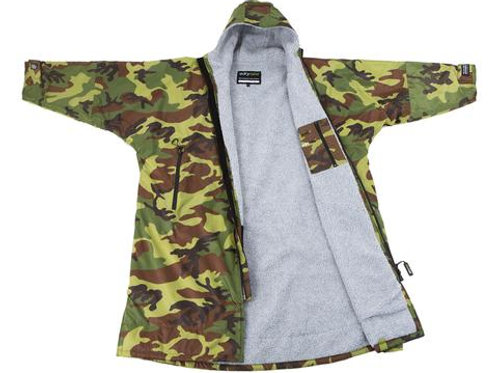 Dryrobe Advanced Long Sleeve Camo Grey