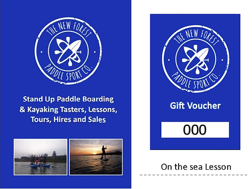 Water Sports on the sea Gift Voucher