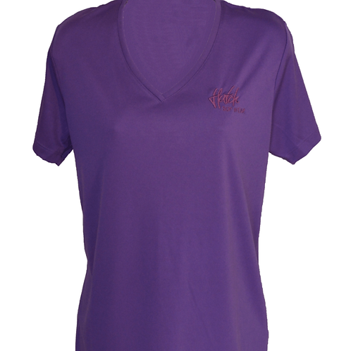 Hutch SUP Wear Ladies Technical Paddling Top Purple