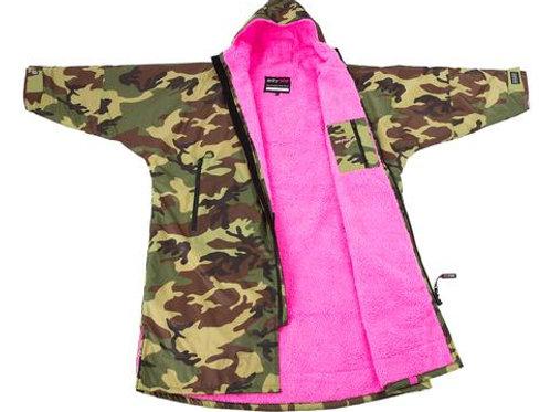 Dryrobe Advanced Long Sleeve Camo Pink