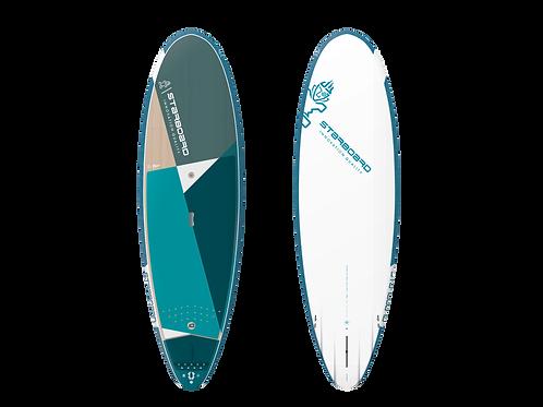 2021 Starboard Pocket Rocket 8'3  x 30 Surf SUP Starlite