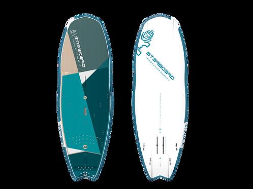 2021 Starboard Hypernut 4in1 SUP Surf, SUP Foil, Windsurf & Windsurf Foil Board