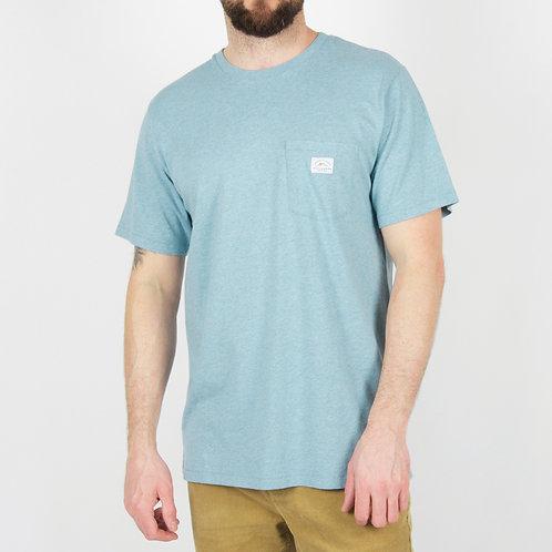 Passenger Olsen T Shirt Sky Blue Marl