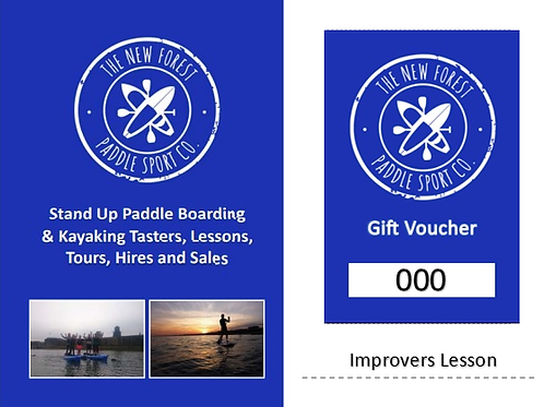 Water Sports Lessons Gift Voucher