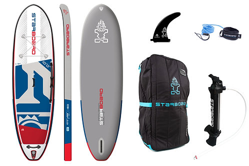 2020 Starboard i Go 10'0 Single Chamber Deluxe Inflatable SUP Package