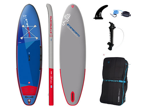 2021 Starboard I Go 10'8 x 33 Deluxe Single Chamber ISUP Package