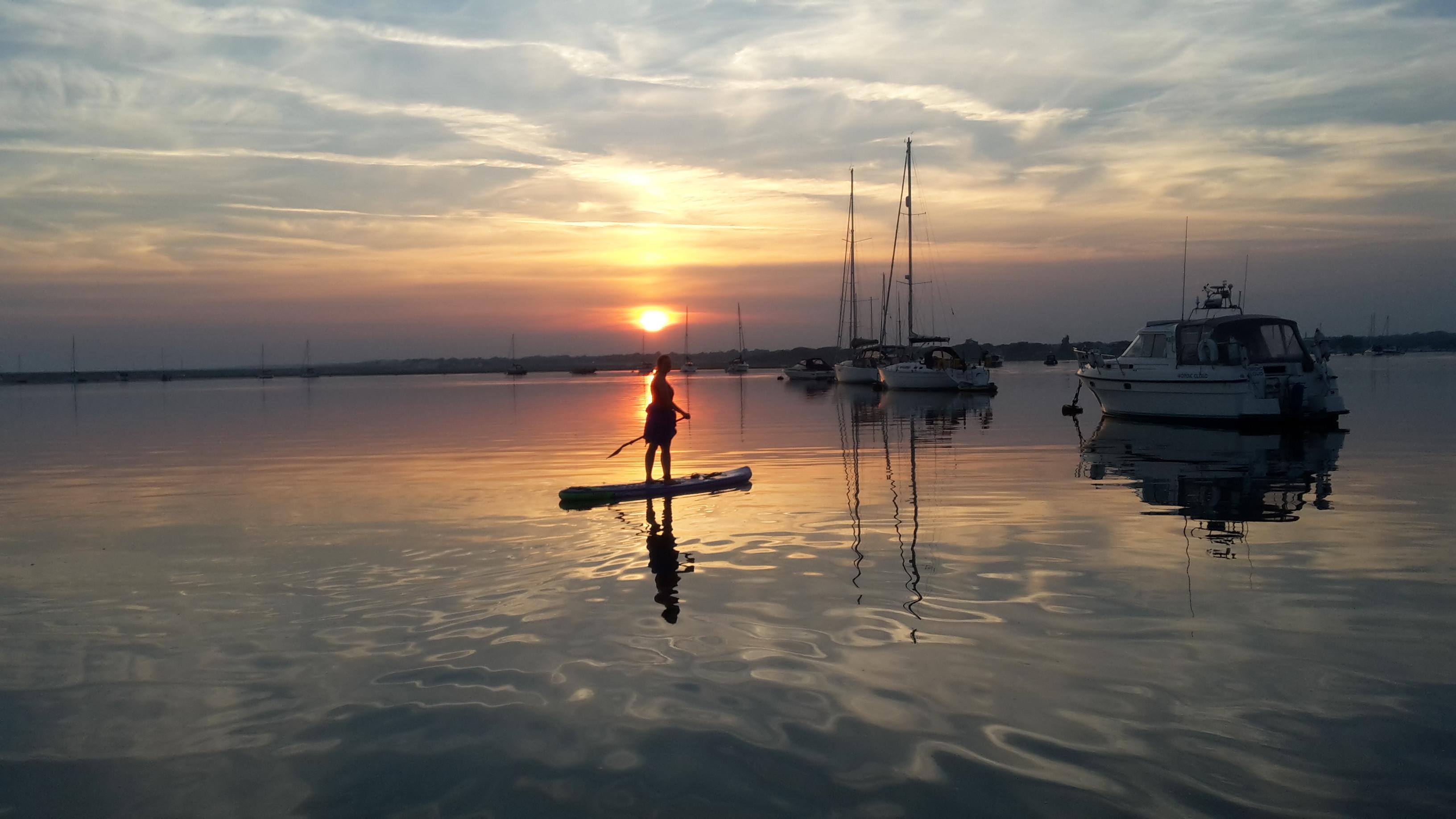 Sunset Picnic Paddle Boarding
