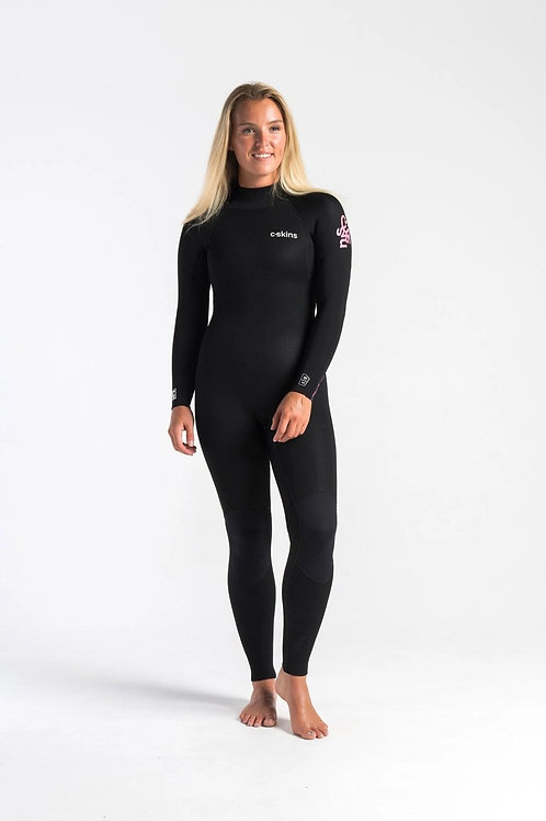 C Skins Surflite 3:2 Womens Steamer Wetsuit Front