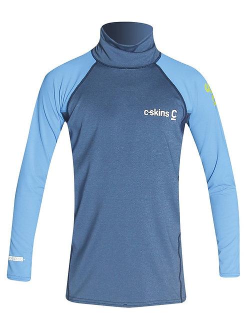 C-Skins Element Rash X Junior Long Sleeve Rash Vest Front