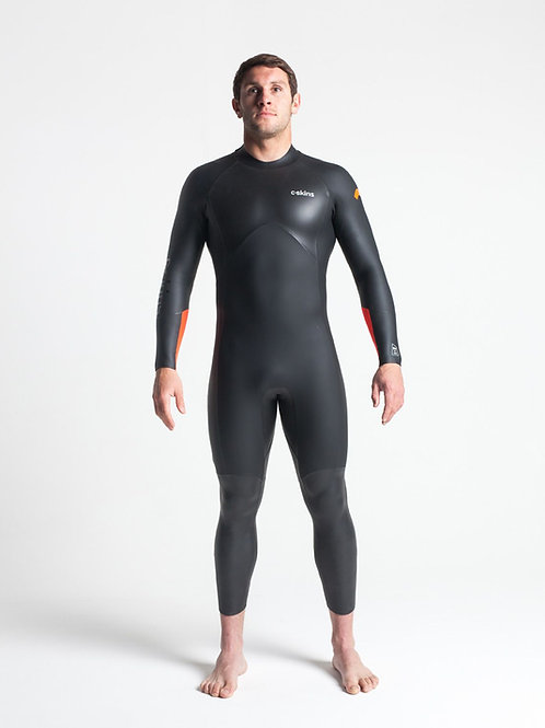 Swim Research Mens 4:3 Open Water Swimming Wetsuit Front