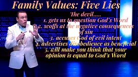 Family Values - Five Lies - March 21, 20