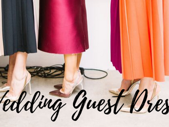 3 Gorgeous Wedding guest dresses.