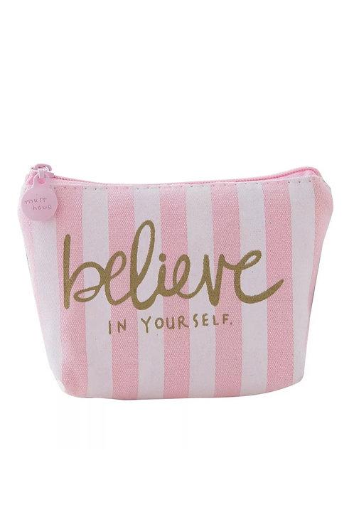 BELIEVE mini coin purse