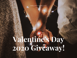 Valentine's Day 2020 Giveaway - Earrings, Necklace and Ring Jewellery Set.