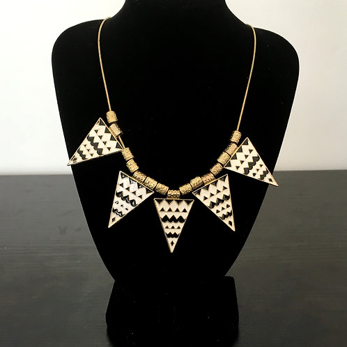 African Style Pyramid Chain