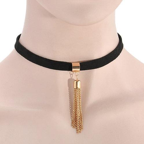 Gold Harajuku Choker Necklace