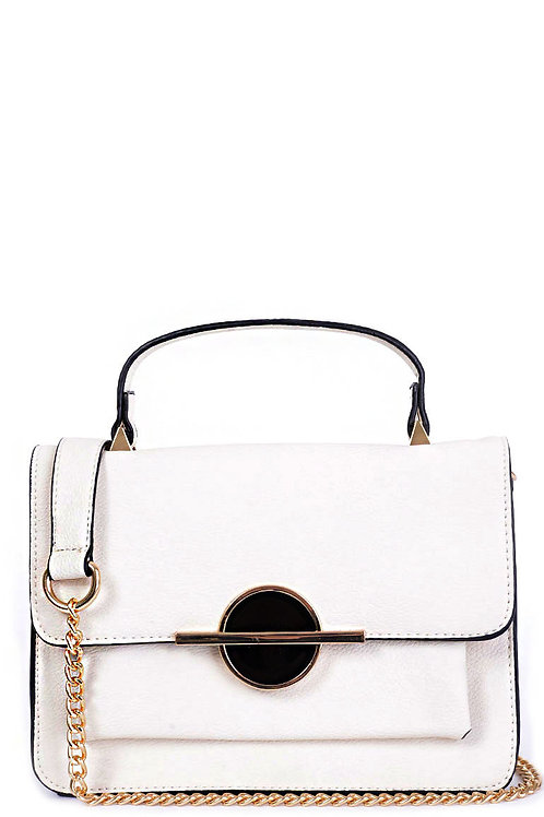 Small Cream Shoulder Bag