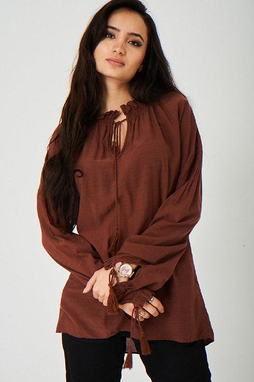 Gabriola Long Sleeve Top