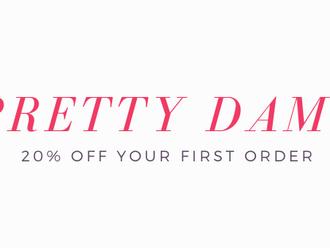 Prettydame.com 20% off discount code.