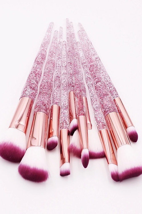 Crystal Dust Makeup Brush Set