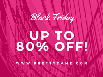 The Best Black Friday Deals. 80% Off Everything!