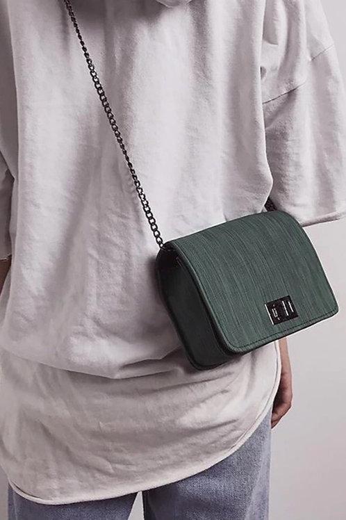 PD Money Green Shoulder Bag