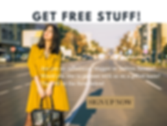 get free stuff influencer sign uo pretty