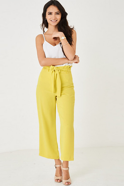 Yellow Sketre Trousers