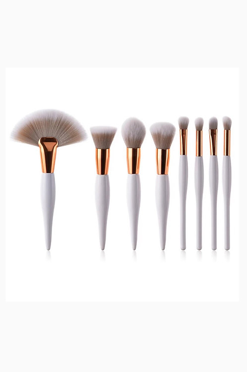 8Pcs Professional Cosmetic Makeup Brush Set