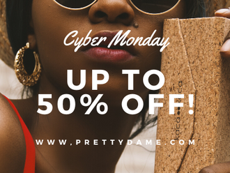 Our Biggest Cyber Monday Sale Yet! Up to 50% off everything.