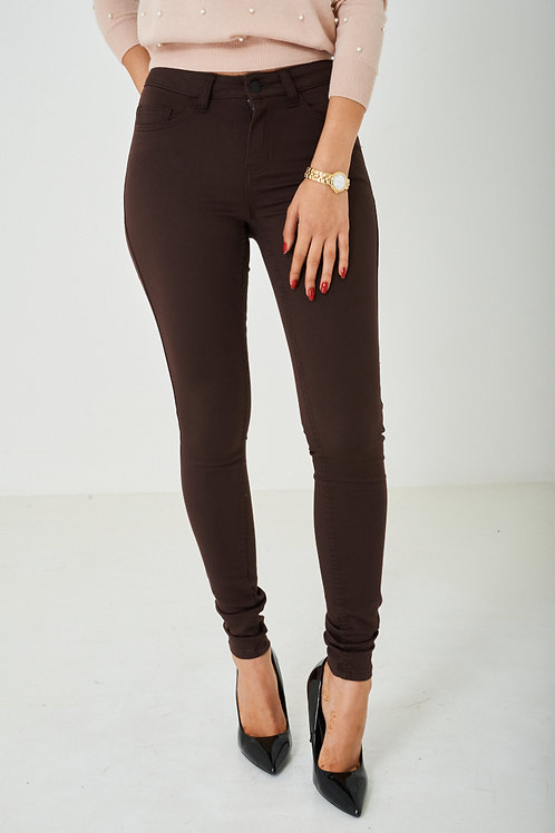 TALL Super Skinny Jeans in Brown