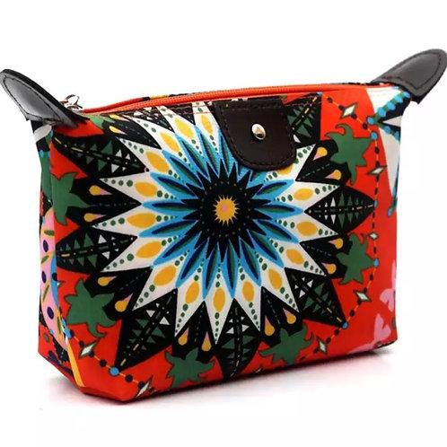 Psychedelic Design Makeup Bag.