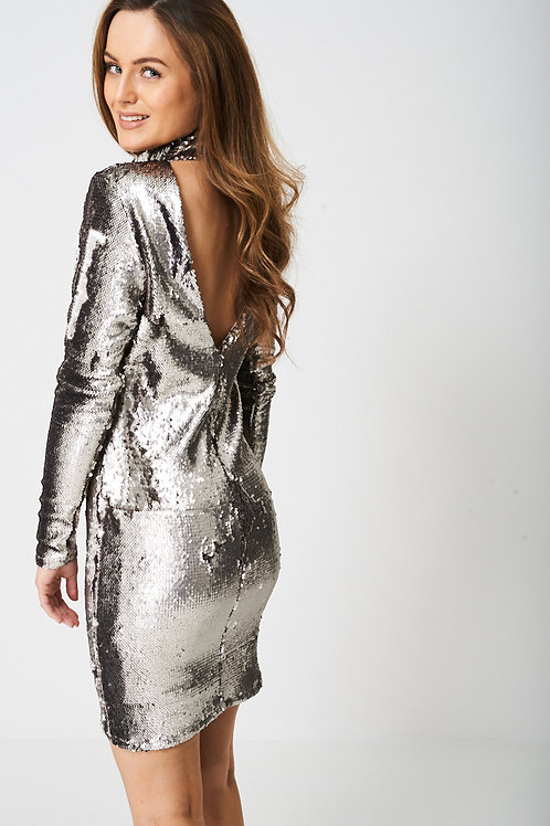 Embellished Disco Ball Dress
