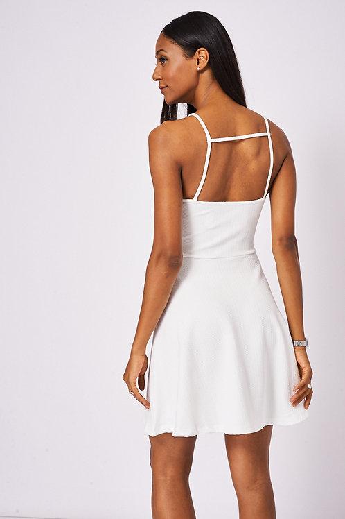 Light Cream Skater Dress